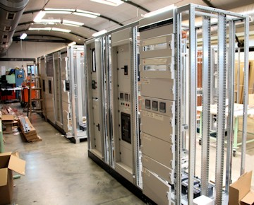 Manufacturing of electrical panels